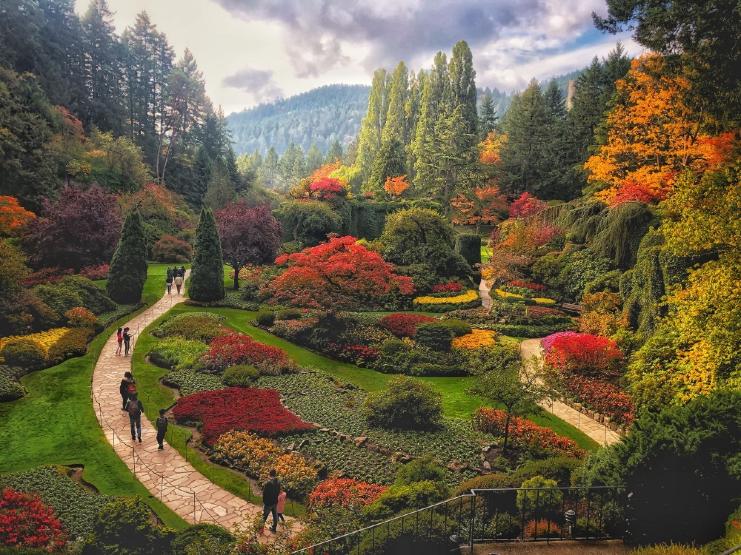 Butchart Gardens Colors Photo Of The Day Noozhawk Com
