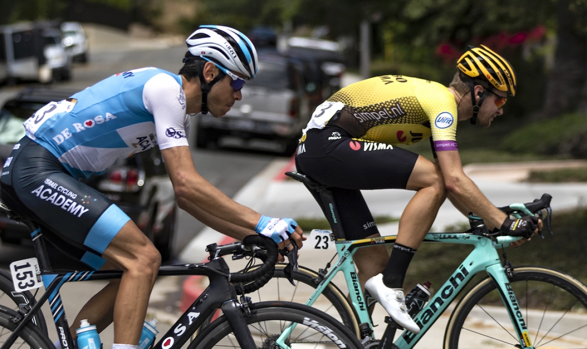 Late Surge by Spain's Ivan Garcia Cortina Wins Stage 5 of