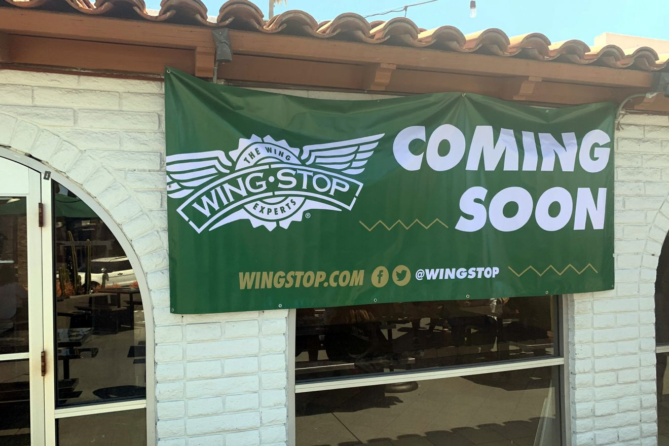 Wingstop is scheduled to open this year in Isla Vista.