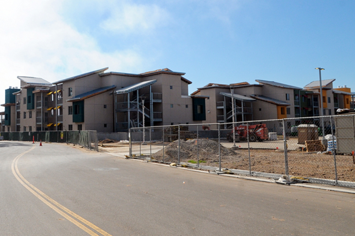 Housing Construction Booming At Ucsb In Wake Of Record Breaking Licant Pool