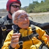 Lorin Brown's 100th Birthday Jump
