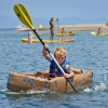 Cardboard Regatta Takes to the Sea