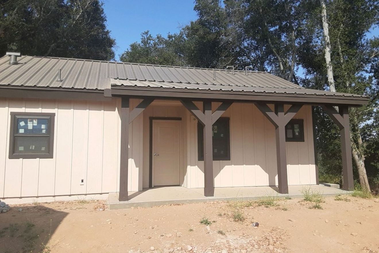 Staff housing under construction at Rancho Alegre and the Santa Ynez Valley Outdoor School.