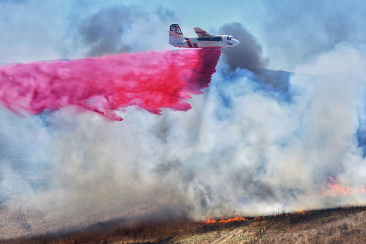 Crews Contain Vegetation Fire Off Sweeney Road in Lompoc