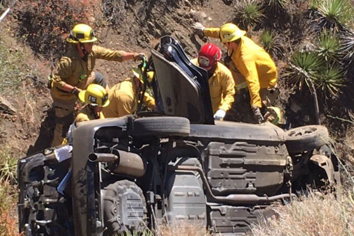 Critical Injuries Reported After Vehicle Crashes Over Side