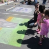 Orcutt Chalk Festival Draws Crowd for School Arts Programs