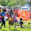 Children Flock to Girsh Park for Easter Egg Hunt