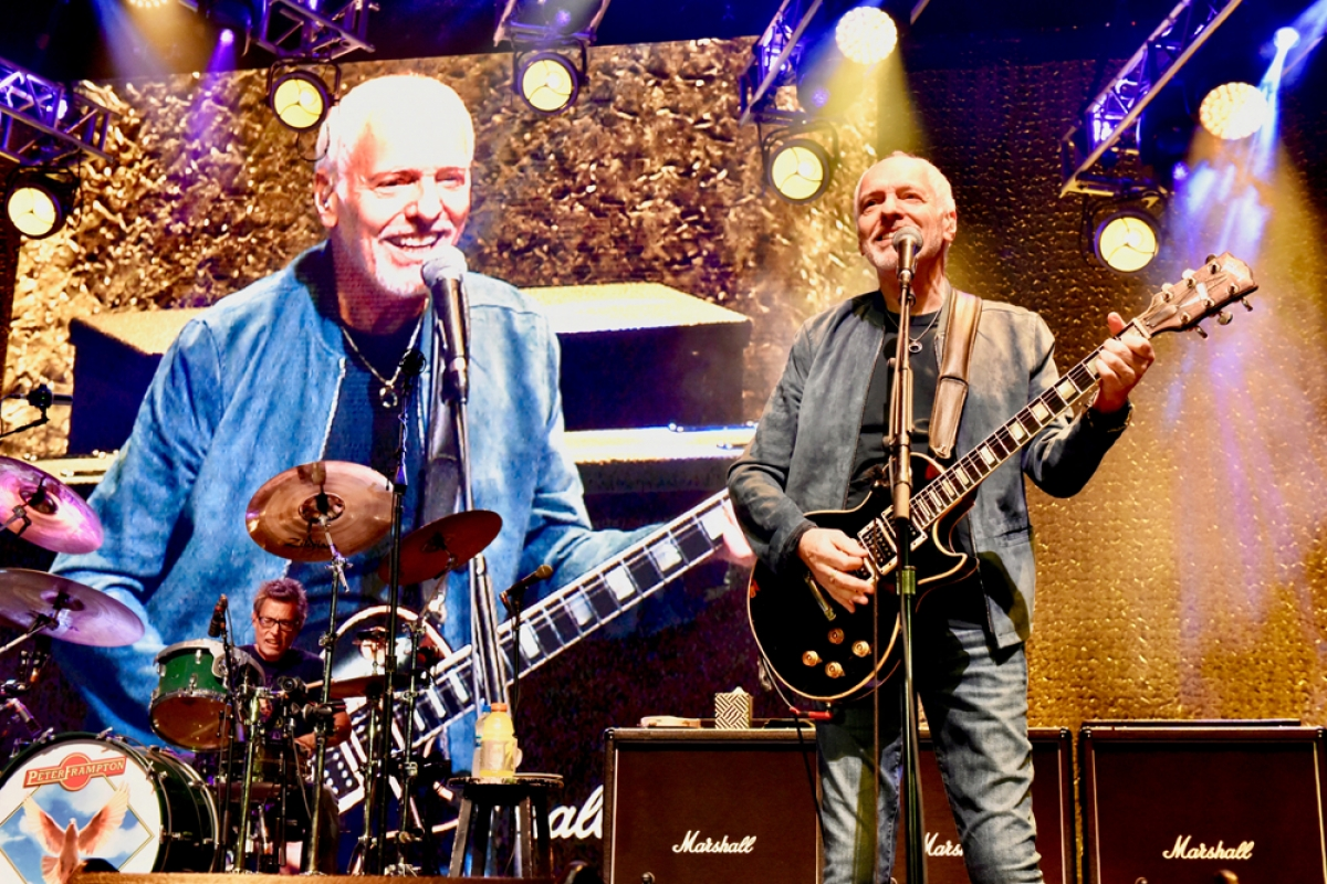 Review: Peter Frampton Brings Farewell Concert Tour to Vina Robles Amphitheatre
