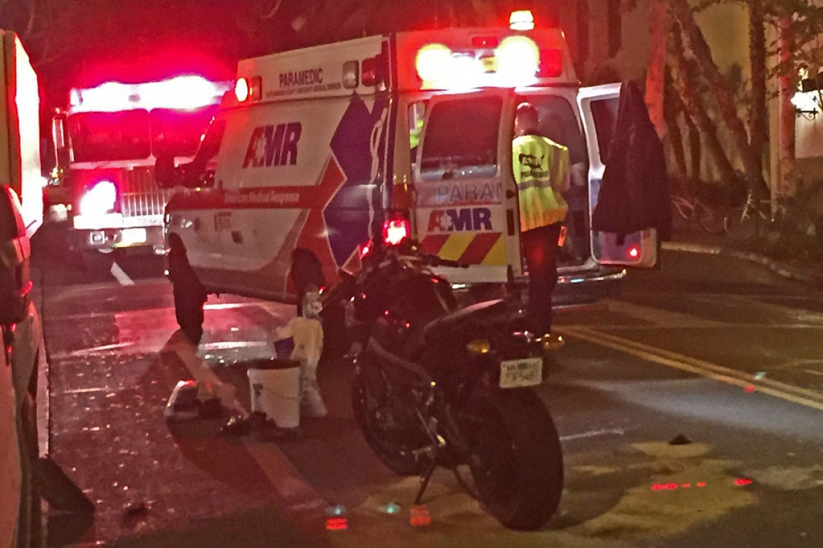 State Street Reopens After Motorcyclist Collides With