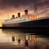 Here & There: The Queen Mary in All Her Ghostly Glory