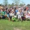 Brief Burst of Chaos at Annual Girsh Park Egg Hunt