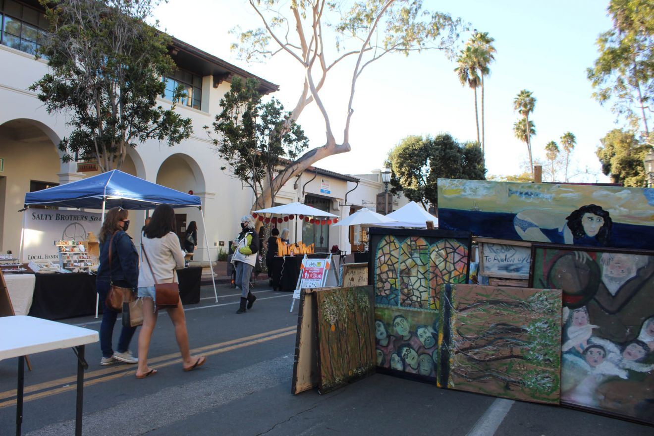 The first-ever State Street Promenade Market is open every Thursday through Dec. 17 between Carrillo and Figueroa streets.