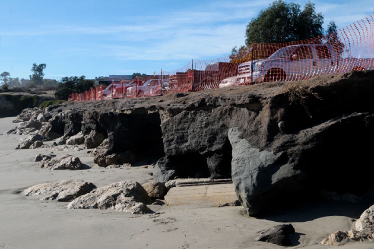 Sand Berm May Not Be Enough to Protect Goleta Beach from