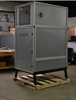 Byers system carbon scrubbers