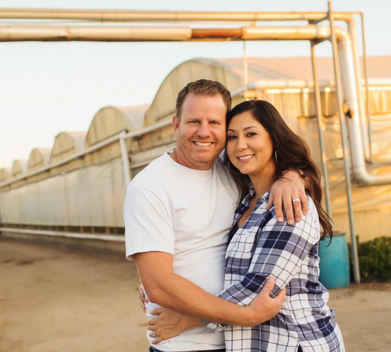 Cindy and David Van Wingerden, owners of CVW Organic Farms