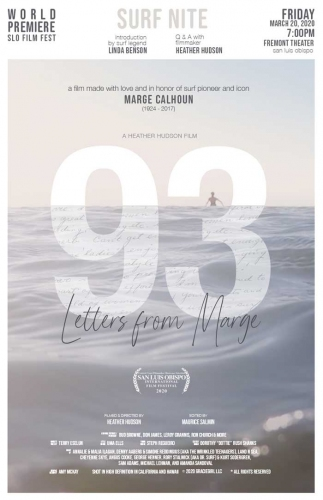 93 Letters from Marge: A Zoom Film Screening & Q&A with The Women and the Waves 1 & 2 filmmaker, He