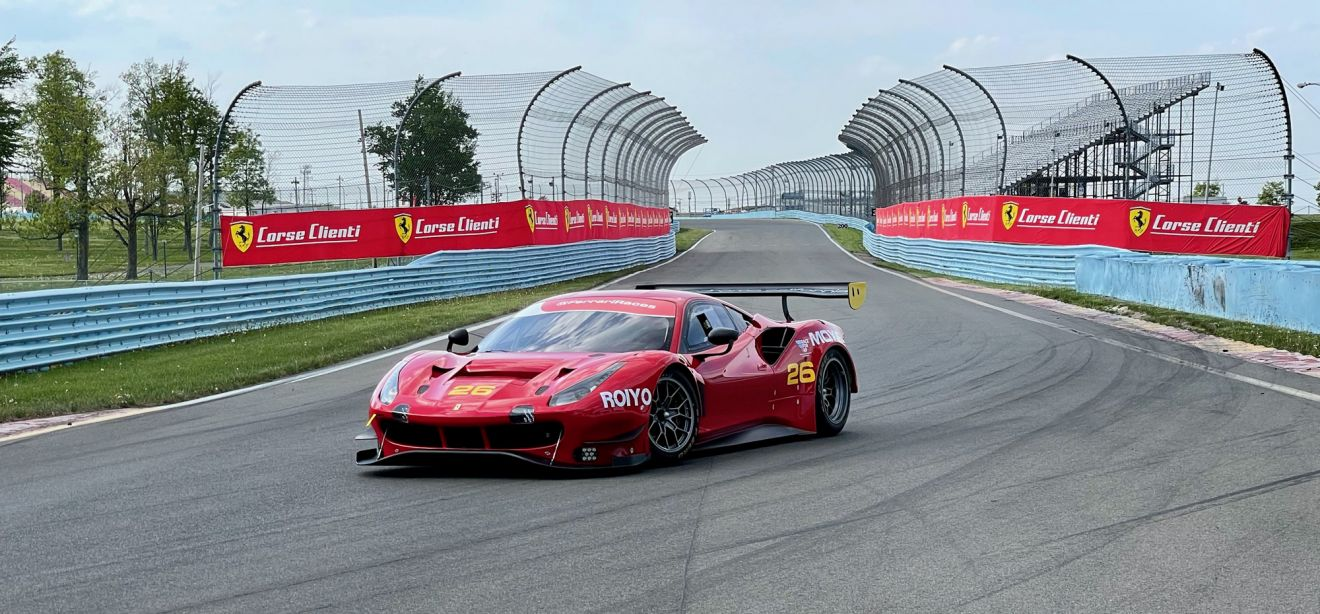 Eric Marston was the first American to take delivery of a new 488 GT Modificata shipped from Italy.