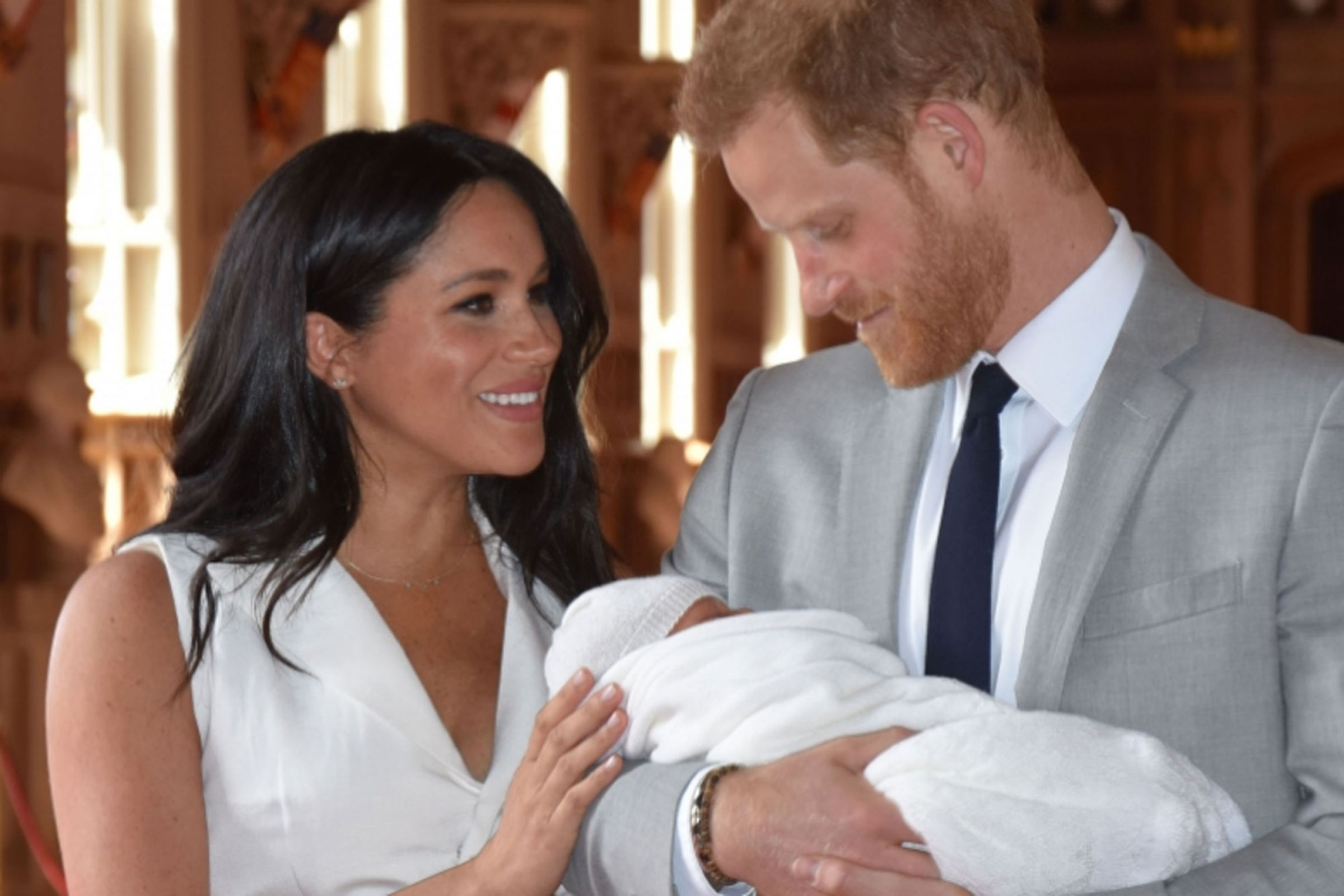The Best Prince Harry And Meghan Son Pictures