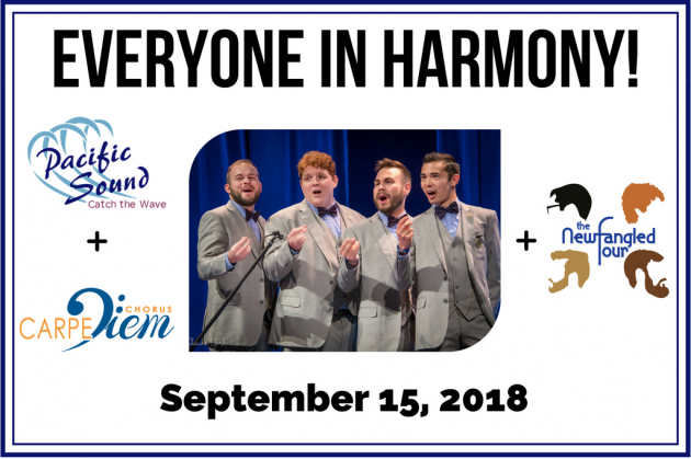 Everyone in Harmony! Presented by Pacific Sound Chorus