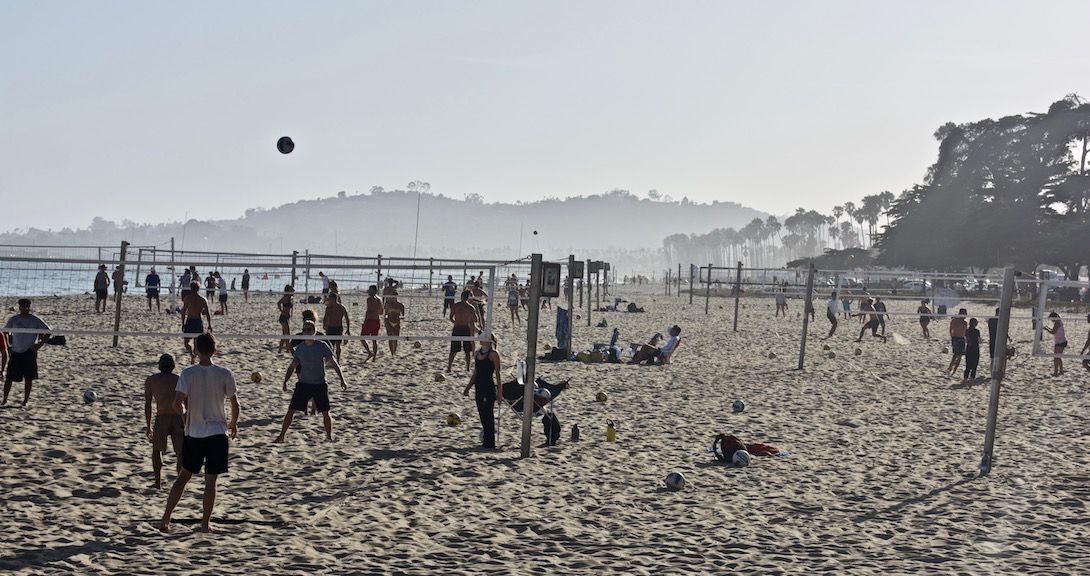 East Beach Volleyball Courts