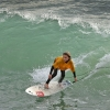 Lakey Peterson Draws Throngs of Young Surfers to Leadbetter Classic