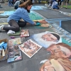 I Madonnari Festival Fills In the Blanks