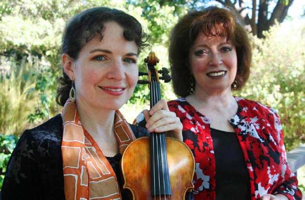 <p>Violinist Nicole McKenzie, left, and pianist Betty Oberacker will proclaim &#8220;Bravo Beethoven&#8221; with a combined concert Jan. 12 at Congregation B&#8217;nai B&#8217;rith in Santa Barbara.</p>