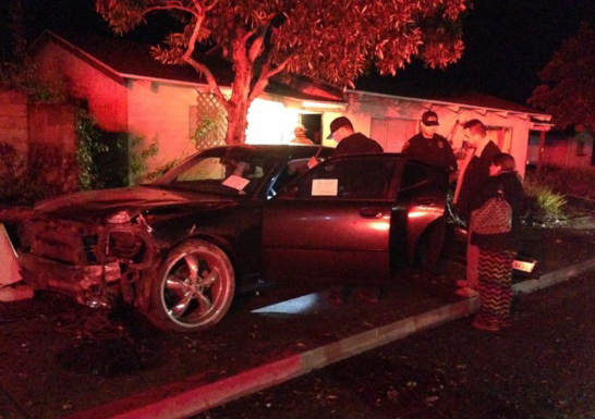 The teen taken into custody was reportedly the vehicle's registered owner, Santa Maria police said.