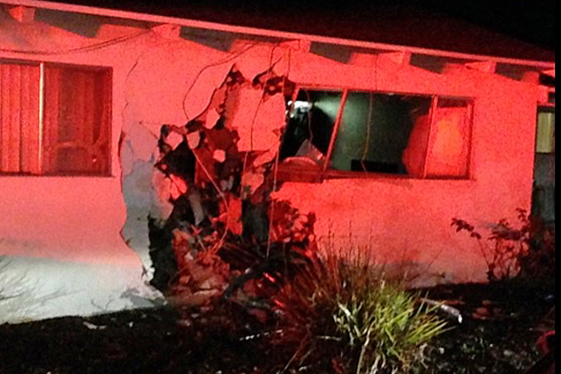 Police have arrested a 16-year-old suspected of being the driver in a hit-and-run crash into a Santa Maria home.