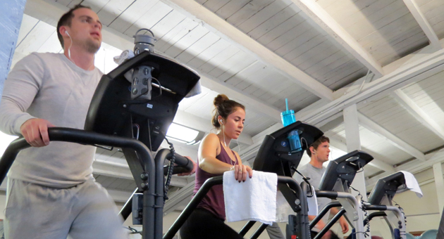 <p>Members of Spectrum Athletic Club in downtown Santa Barbara hit the cardio machines this week, joined by an increasing number of locals trying to stick with new year&#8217;s resolutions to lose weight and get in shape. Spectrum&#8217;s three club locations and other gyms are offering special deals for new members through the end of January.</p>