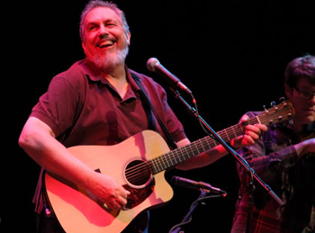 David Bromberg opened Friday night's double bill at the Lobero Theatre.