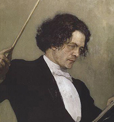 Anton Rubinstein looks pretty romantic, for an administrator.