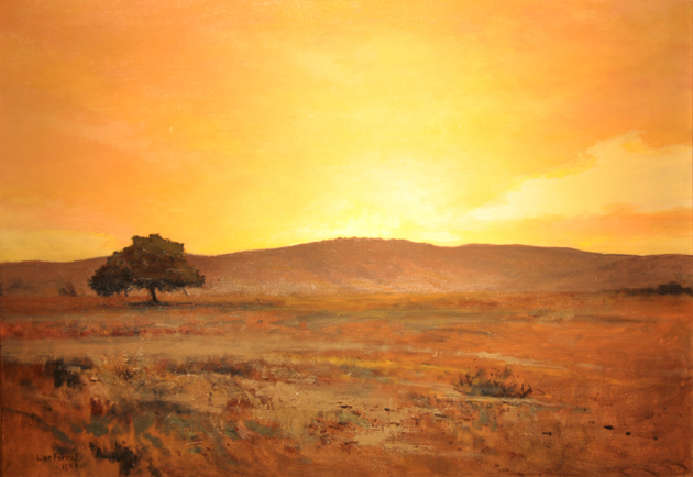 <p>An oil painting by Lockwood de Forest, part of the &#8220;Luminescent Santa Barbara&#8221; exhibition on full view through March 2 at the Santa Barbara Historical Museum.</p>