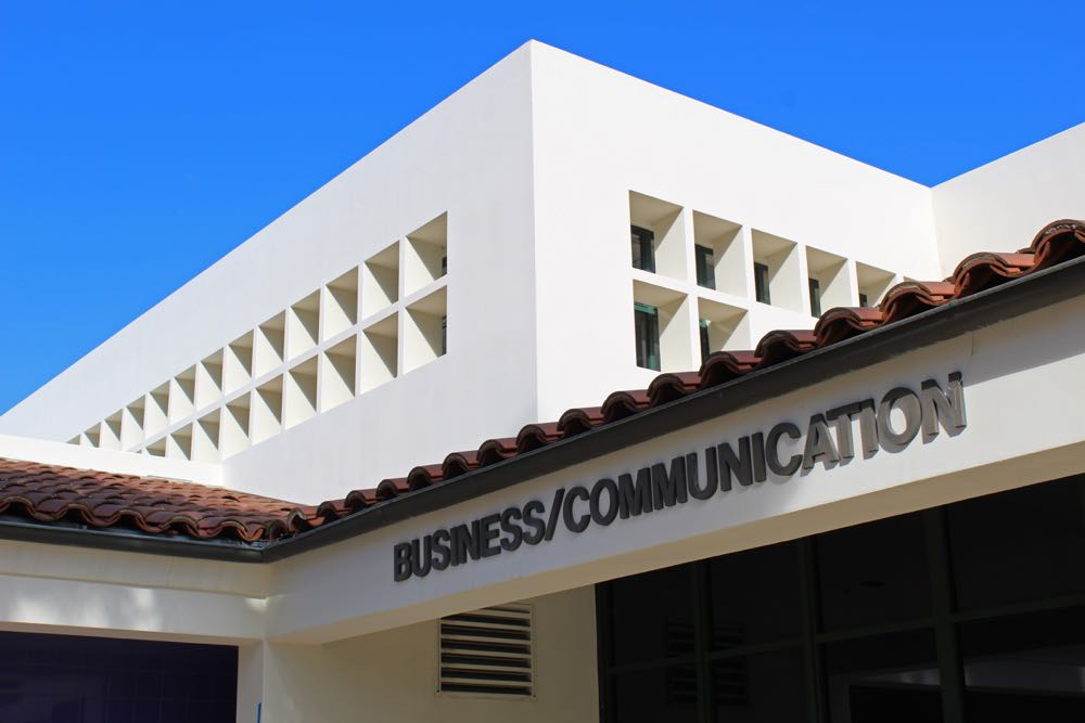Santa Barbara City College's Scheinfeld Center for Entrepreneurship & Innovation, located in the Business and Communication building on West Campus, is open to all students, regardless of major.