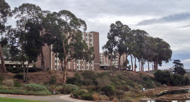<p>Fall classes at UCSB, and moving-in days to dormitories such as San Miguel Hall, above, will be delayed a week this year to avoid conflicts with the Jewish high holidays.</p>