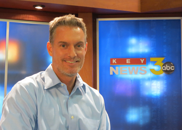 Mark Danielson, recently named general manager of Santa Barbara-based KEYT, says the television station's new owners are embarking on a plan to expand and rebrand operations. (Gina Potthoff / Noozhawk photo)