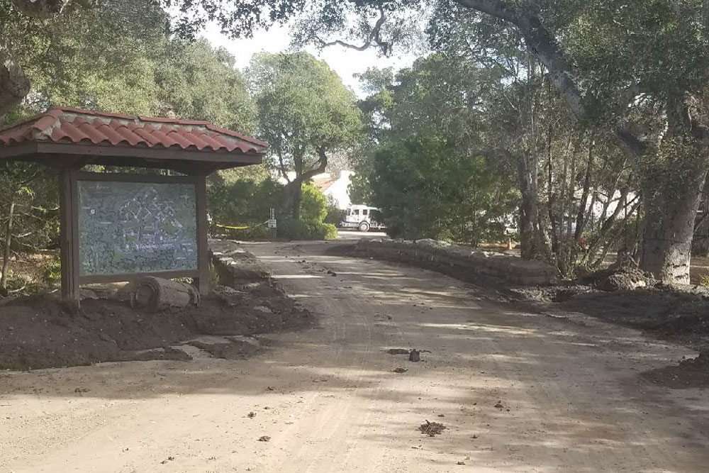 Although unimaginable death and destruction occurred just outside its front gates, all Casa Dorinda residents and staff are safe and accounted for after Tuesday's flash flooding and mudslides ripped through Montecito. The facility was safely evacuated on Thursday.