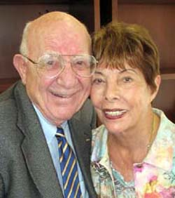 Harvey and Hope Schechter (George Foulsham photo)