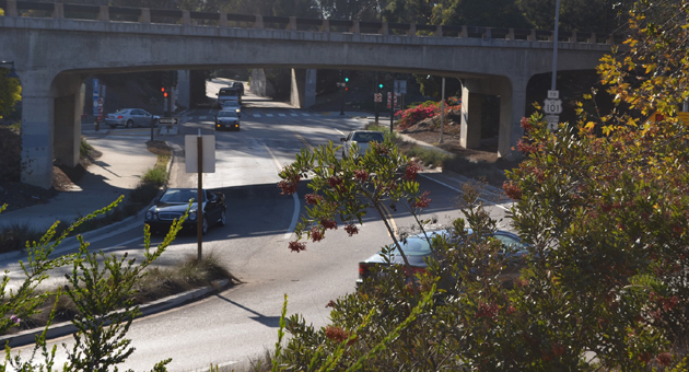 <p>The Santa Barbara County Association of Governments is expected to vote Thursday on the future of the Highway 101 project, which would add a carpool lane between Santa Barbara and Montecito and change some interchanges, such as the one at Cabrillo Boulevard shown here.</p>