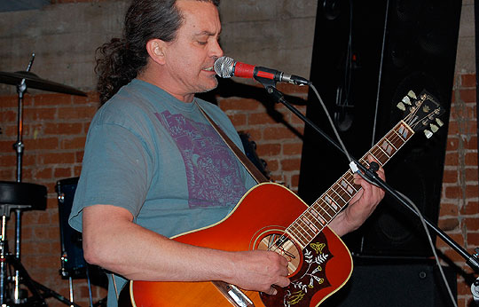 Curt Kirkwood, singer and indie-rock guitar hero, plays at the Meat Puppets' Thursday show at SOhO Restaurant & Music Club.