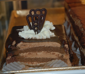 Chocolate mousse ganoush is one of owner Sepi Mashhoon's <br /> favorite desserts at her Xanadu French Bakery.