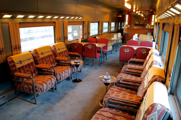 "<p>The Acoma, a restored Santa Fe Super Chief club-lounge, will welcome passengers for the South Coast Railroad Museum&#8217;s ""Sweetheart Special"" excursion.</p>"