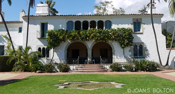 <p>The classic Spanish Colonial Revival estate of Casa de Herrero — House of the Blacksmith — will be just one of the stops on the Garden Writers Association garden and nursery tour on Feb. 2.</p>