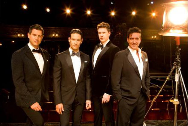 <p>Classical crossover group Il Divo will perform March 30 at the Arlington Theatre.</p>