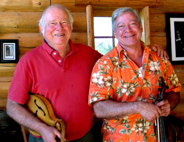 <p>Peter Feldmann, left, and Blaine Sprouse will perform Feb. 13 at UCSB as part of the Winter 2013 World Music Program.</p>