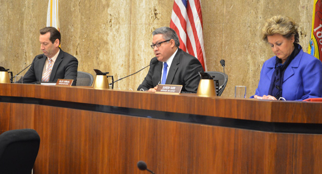 <p>Santa Barbara County First District Supervisor Salud Carbajal changed his mind Tuesday and voted not to pursue an oil production tax on the June ballot.</p>