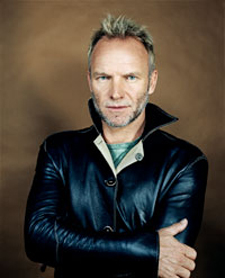 Sting will perform many of his greatest hits June 3 at the Santa Barbara Bowl.