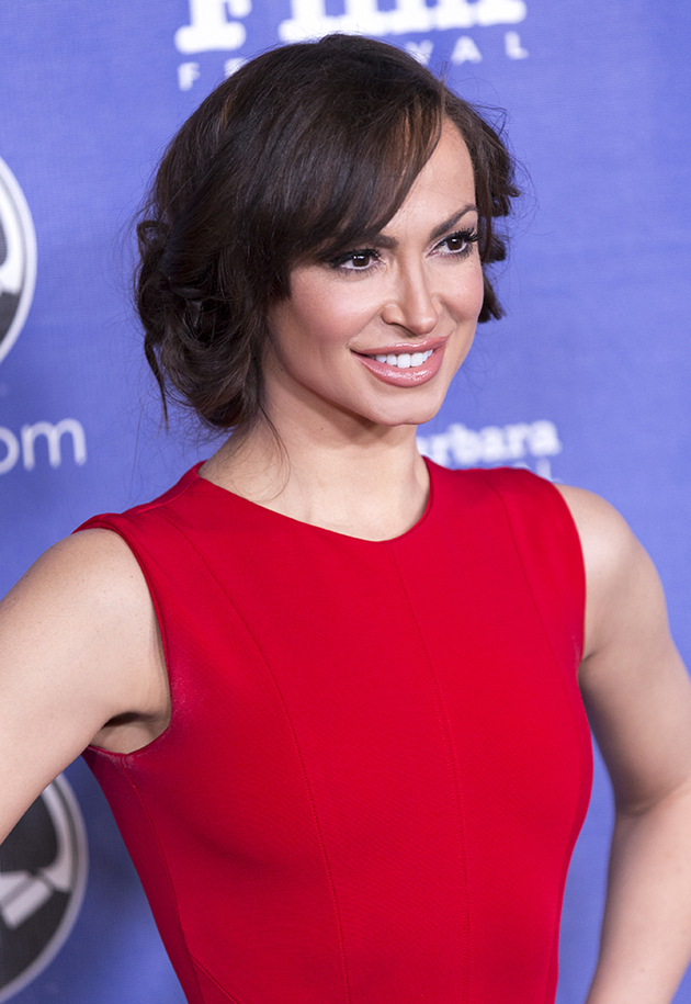 Ukrainian professional ballroom dancer Karina Smirnoff of 'Dancing with the Stars.'