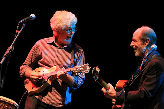 <p>Fred Tackett and Paul Barrere, shown here at a TRAP benefit concert in 2012, will return to town next Friday, Jan. 31, for an intimate show featuring songs from Little Feat and more.</p>