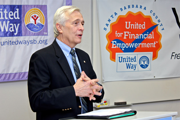 United Way President/CEO Paul Didier says the collaborative Financial Empowerment Partnership served 2,161 families in Santa Barbara County last year, amounting to $4.14 million in tax returns.